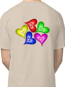 Playful Hearts Classic T-Shirt