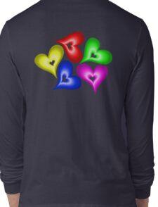Playful Hearts Long Sleeve T-Shirt