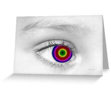 Eye Alone 3D Greeting Card