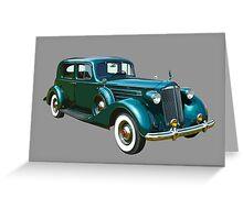 Packard Classic Car Greeting Card