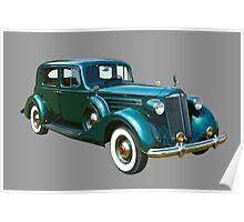 Packard Classic Car Poster