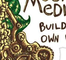 Combat Mediocrity Sticker