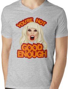 """Katya Zamolodchikova """"You're Not Good Enough"""" Mens V-Neck T-Shirt"""