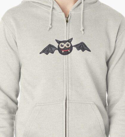 Plasticine bat Zipped Hoodie
