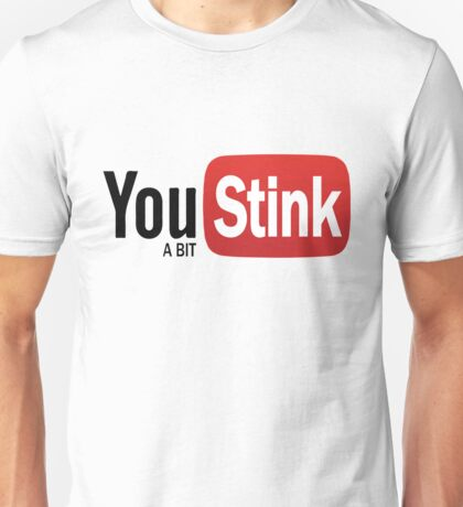 Funny Gym - Logo Spoofs -  Youtube - You Stink Unisex T-Shirt