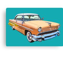 1955 Lincoln Capri Luxury Car Canvas Print