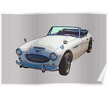 Austin Healey 300 Sports Car Poster