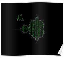 Mandelbrot Set Matrix Poster