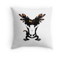Frilled Lizard! Throw Pillow
