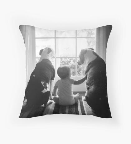 Love-a-bull Throw Pillow