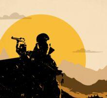 Battlefield 1 Minimalist Print Sticker