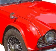 Triumph Tr4 Convertible Sports Car Sticker