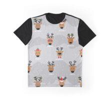 Santa's Reindeer Graphic T-Shirt