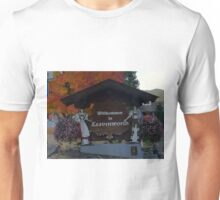 LEAVENWORTH WA. AT FALL TIME   Unisex T-Shirt