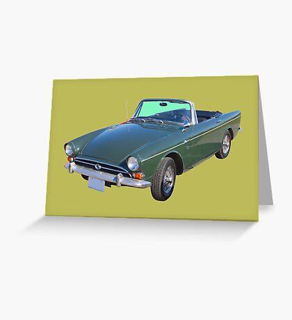 Alpine 5 Sports Car Greeting Card