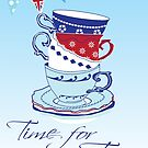 Time for Tea by Carolynne