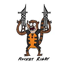 Rocket Rigby Photographic Print
