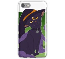 Witches Cat iPhone Case/Skin