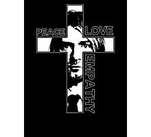 Peace Love Empathy Photographic Print