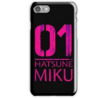 Hatsune Miku's Number iPhone Case/Skin