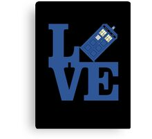 Doctor Love Canvas Print