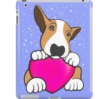 Love You Bull Terrier Puppy iPad Case/Skin