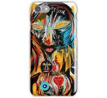 Empty soul and bleeding heart iPhone Case/Skin