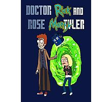 Doctor Rick and Rose Mortyler Photographic Print