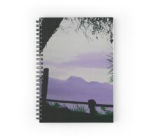 Misty Kaimai Mountain Ranges, New Zealand Spiral Notebook