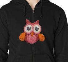 Plasticine owl Zipped Hoodie