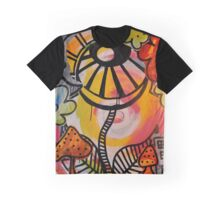 The Flower Is the Sun Is Watching Graphic T-Shirt