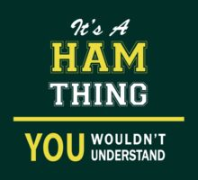 It's A HAM thing, you wouldn't understand !! by satro