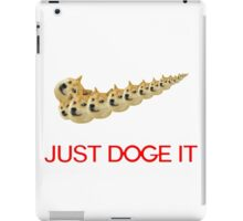 Just Doge It iPad Case/Skin