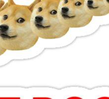 Just Doge It Sticker