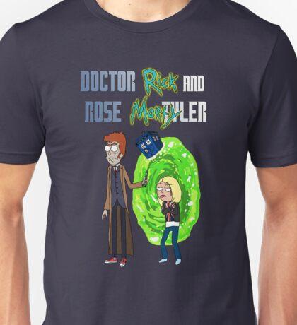 Doctor Rick and Rose Mortyler Unisex T-Shirt