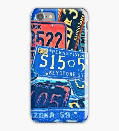 Forgotten Cars iPhone Case/Skin