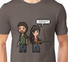 Pixel Joel & Ellie Unisex T-Shirt