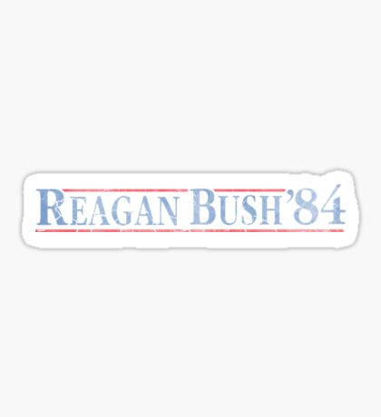 Republican Reagan Bush 84 Election Sticker