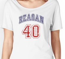 Reagan 40th President of The United States Women's Relaxed Fit T-Shirt
