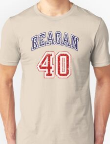 Reagan 40th President of The United States Unisex T-Shirt
