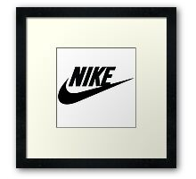 NIKE COLLECTIONS! Framed Print