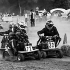 Lawnmower racing  by yampy