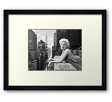 Marilyn Monroe - Things Have Changed - B&W Framed Print