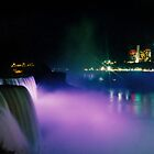 Niagara Falls at Night by djphoto