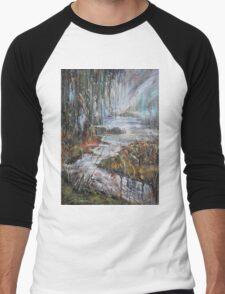 Along the River II Men's Baseball ¾ T-Shirt