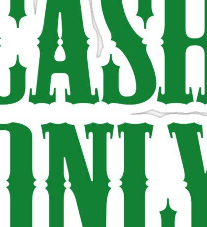 Cash Only Sticker