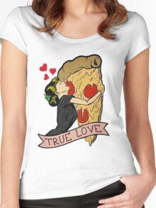 True Love <3 Women's Fitted Scoop T-Shirt