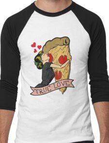 True Love <3 Men's Baseball ¾ T-Shirt