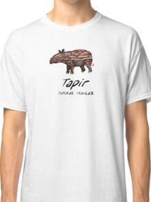 Animals of Malaysia - Baby Malayan Tapir  Classic T-Shirt
