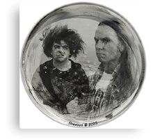 The Melvins Drumskin Canvas Print